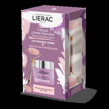 lierac cofanetto lift integral crema 50 ml + face roller omaggio